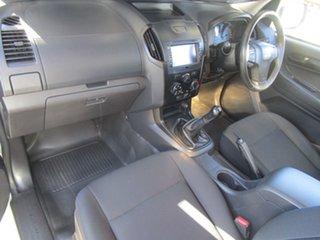 2016 Isuzu D-MAX SX (4x2)TF MY17 COFFEE VAN UTE White Cab Chassis