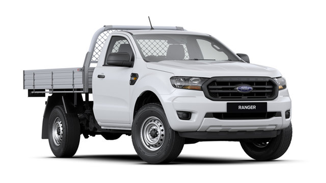 New Ford Ranger  , 2020 Ford Ranger TH MY20.75 XL 3.2L (4x4) Antarctic White 6 Speed Automatic Cab Chassis
