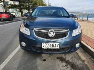 2014 Holden Cruze JH Series II MY14 Equipe Blue 6 Speed Sports Automatic Sedan.