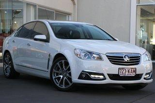 2015 Holden Calais VF MY15 V White 6 Speed Sports Automatic Sedan.