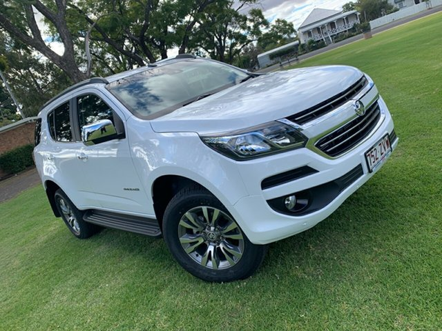 Used Holden Trailblazer RG MY20 LTZ, 2020 Holden Trailblazer RG MY20 LTZ White 6 Speed Sports Automatic Wagon