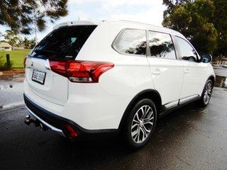 2017 Mitsubishi Outlander ZL MY18.5 ES AWD White 6 Speed Constant Variable Wagon.