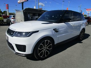 2019 Land Rover Range Rover Sport L494 20MY SDV6 183kW SE White 8 Speed Sports Automatic Wagon.