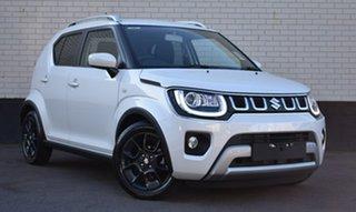 2020 Suzuki Ignis MF Series II GLX White 1 Speed Constant Variable Hatchback.