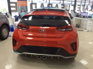 2019 Hyundai Veloster JS MY20 Turbo Coupe D-CT Premium Tangerine Comet 7 Speed