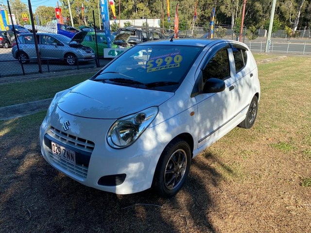 Used Suzuki Alto GF GL Clontarf, 2010 Suzuki Alto GF GL White 5 Speed Manual Hatchback