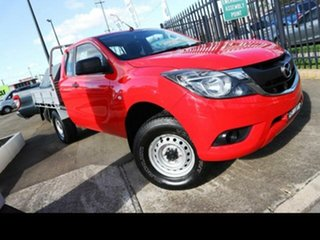 2016 Mazda BT-50 MY16 XT Hi-Rider (4x2) Red 6 Speed Automatic Freestyle Cab Chassis.