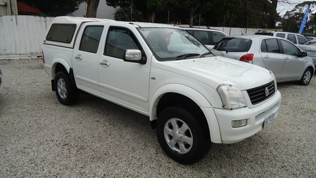 Used Holden Rodeo RA MY06 LT Crew Cab 4x2, 2006 Holden Rodeo RA MY06 LT Crew Cab 4x2 White 4 Speed Automatic Utility