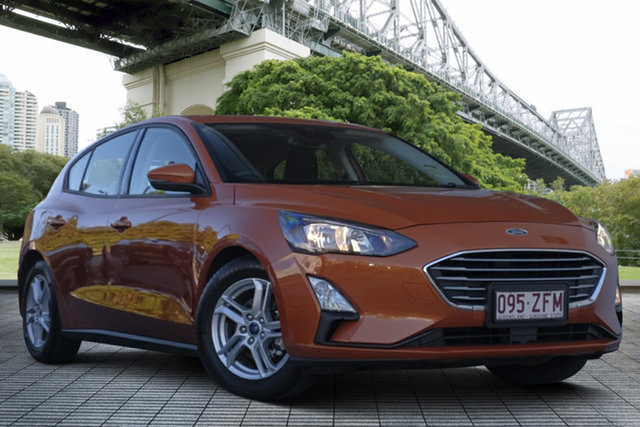 Used Ford Focus SA 2019.25MY Trend, 2019 Ford Focus SA 2019.25MY Trend Orange 8 Speed Automatic Hatchback