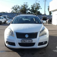 2011 Suzuki Kizashi FR MY11 Prestige White 6 Speed Constant Variable Sedan.