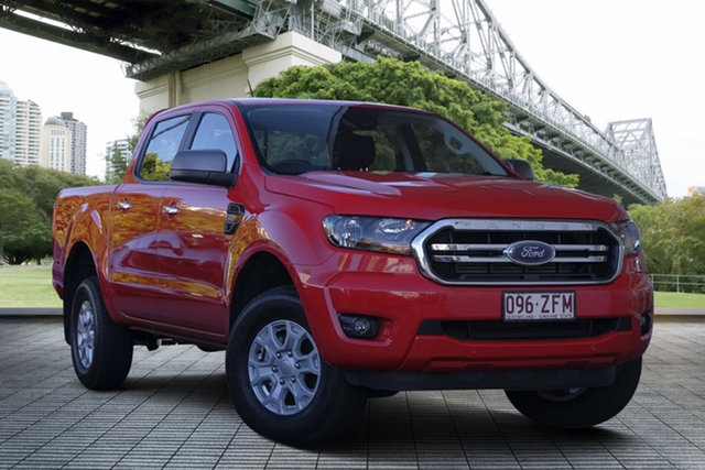 Used Ford Ranger PX MkIII 2019.75MY XLS Pick-up Double Cab, 2019 Ford Ranger PX MkIII 2019.75MY XLS Pick-up Double Cab Red 6 Speed Sports Automatic Utility