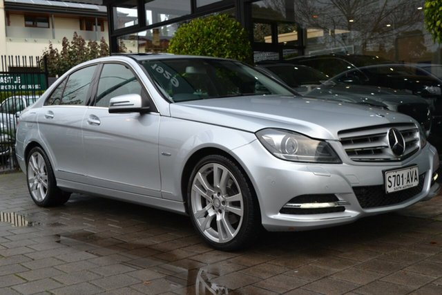 Used Mercedes-Benz C-Class W204 MY12 C250 BlueEFFICIENCY 7G-Tronic + Avantgarde, 2012 Mercedes-Benz C-Class W204 MY12 C250 BlueEFFICIENCY 7G-Tronic + Avantgarde Silver 7 Speed