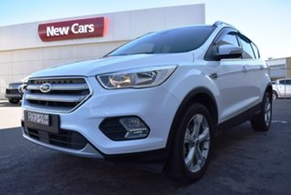 2018 Ford Escape ZG 2018.00MY Trend 2WD White 6 Speed Sports Automatic Wagon