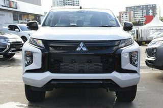 2020 Mitsubishi Triton MR MY21 GSR Double Cab White Diamond 6 Speed Sports Automatic Utility