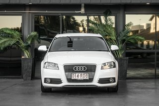 2010 Audi A3 8P MY11 TFSI Sportback S Tronic Ambition White 7 Speed Sports Automatic Dual Clutch.