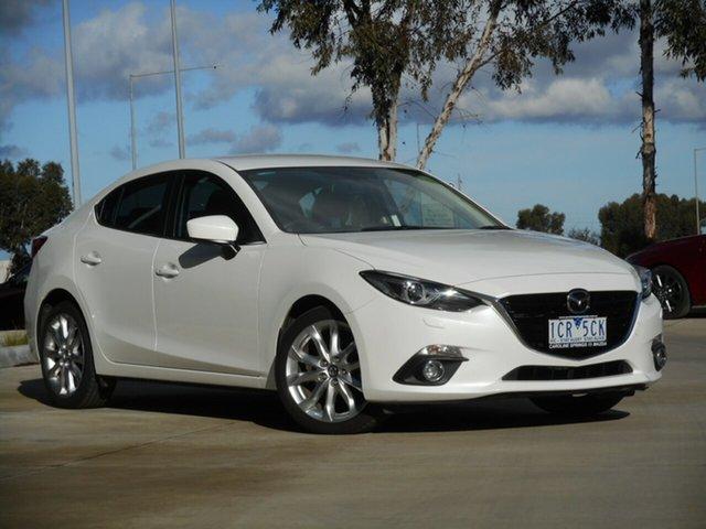Used Mazda 3 BM5238 SP25 SKYACTIV-Drive GT, 2014 Mazda 3 BM5238 SP25 SKYACTIV-Drive GT 6 Speed Sports Automatic Sedan