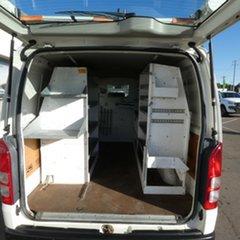2009 Toyota HiAce KDH201R MY08 LWB White 5 Speed Manual Van