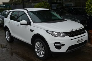 2015 Land Rover Discovery Sport L550 15MY Td4 SE White 9 Speed Sports Automatic Wagon.