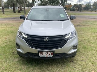 2020 Holden Equinox BLACK EDITION Silver 6 Speed Automatic Wagon.