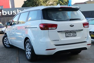 2018 Kia Carnival YP MY18 S Snow White Pearl 6 Speed Automatic Wagon.