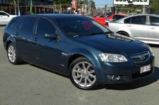 2011 Holden Commodore VE II MY12 Equipe Green 6 Speed Automatic Sportswagon.