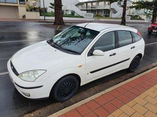 2003 Ford Focus LR MY2003 CL White 4 Speed Auto Hatchback.