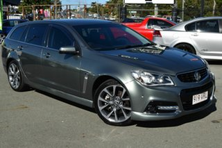 2015 Holden Commodore VF MY15 SS-V Silver 6 Speed Automatic Sportswagon.