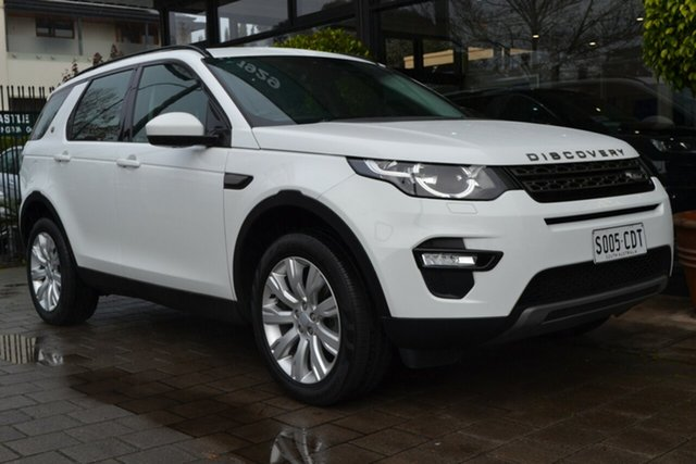 Used Land Rover Discovery Sport L550 15MY Td4 SE, 2015 Land Rover Discovery Sport L550 15MY Td4 SE White 9 Speed Sports Automatic Wagon