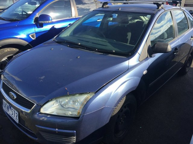 Used Ford Focus LS CL, 2006 Ford Focus LS CL Blue 5 Speed Manual Hatchback