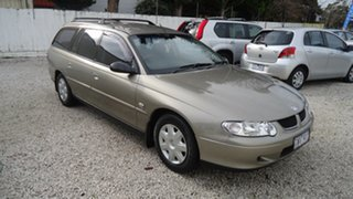 2002 Holden Commodore VX II Executive Gold 4 Speed Automatic Wagon.
