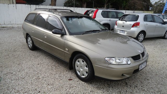 Used Holden Commodore VX II Executive, 2002 Holden Commodore VX II Executive Gold 4 Speed Automatic Wagon