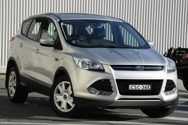 Used Ford Kuga TF Ambiente 2WD, 2013 Ford Kuga TF Ambiente 2WD Silver 6 Speed Manual Wagon