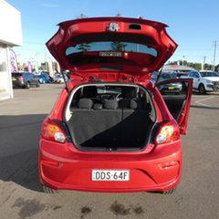 2016 Mitsubishi Mirage LA MY17 LS Red 1 Speed Constant Variable Hatchback