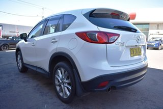 2014 Mazda CX-5 KE1031 MY14 Grand Touring SKYACTIV-Drive AWD White 6 Speed Sports Automatic Wagon