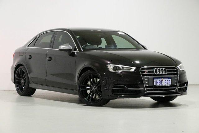 Used Audi S3 8V MY16 2.0 TFSI Quattro, 2016 Audi S3 8V MY16 2.0 TFSI Quattro Black 6 Speed Direct Shift Sedan
