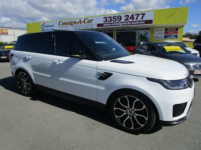 Used Land Rover Range Rover Sport L494 20MY SDV6 183kW SE, 2019 Land Rover Range Rover Sport L494 20MY SDV6 183kW SE White 8 Speed Sports Automatic Wagon