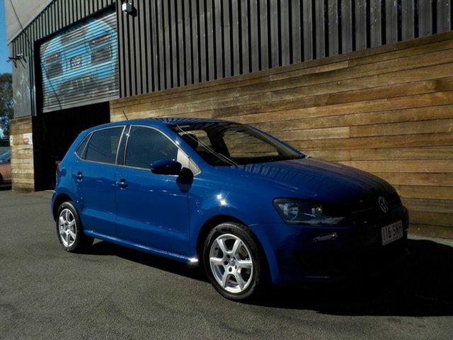 Used Volkswagen Polo 6R MY13 77TSI Comfortline, 2012 Volkswagen Polo 6R MY13 77TSI Comfortline Blue 6 Speed Manual Hatchback