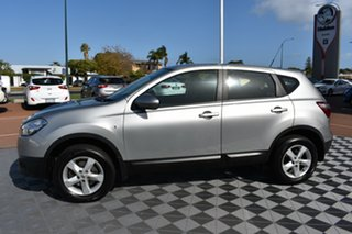 2012 Nissan Dualis J10 Series II MY2010 ST Hatch Silver 6 Speed Manual Hatchback