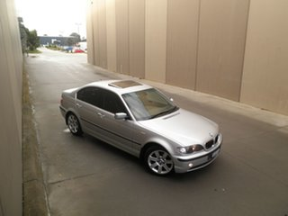 2001 BMW 3 Series E46 MY2002 325i Steptronic Titanium Silver 5 Speed Sports Automatic Sedan