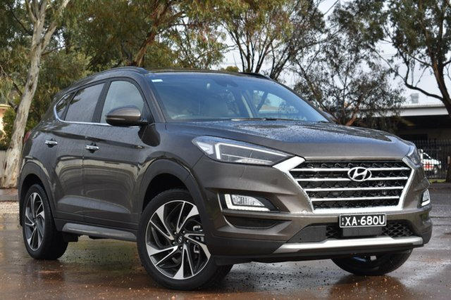 Used Hyundai Tucson TL3 MY19 Highlander D-CT AWD, 2019 Hyundai Tucson TL3 MY19 Highlander D-CT AWD Khaki 7 Speed Sports Automatic Dual Clutch Wagon