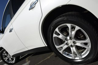 2013 Mitsubishi Outlander ZJ MY13 Aspire 4WD White 6 Speed Constant Variable Wagon
