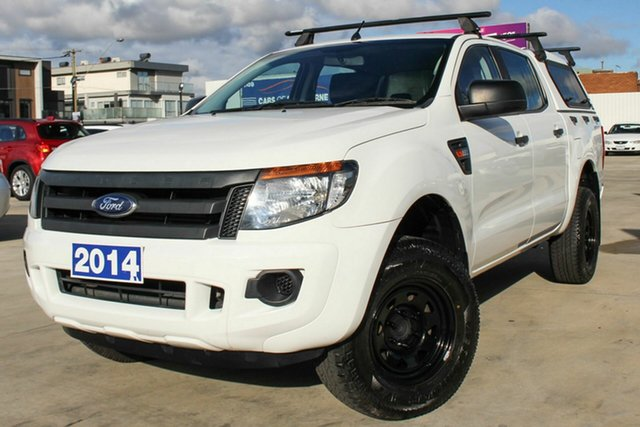 Used Ford Ranger PX XL Hi-Rider, 2014 Ford Ranger PX XL Hi-Rider White 6 Speed Sports Automatic Utility