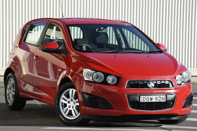 Used Holden Barina TM MY16 CD, 2016 Holden Barina TM MY16 CD Red 6 Speed Automatic Hatchback