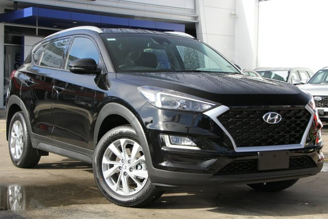 New Hyundai Tucson TL4 MY21 Active 2WD Moorooka, 2020 Hyundai Tucson TL4 MY21 Active 2WD Phantom Black Pearl 6 Speed Automatic Wagon
