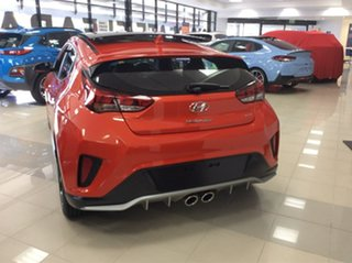 2019 Hyundai Veloster JS MY20 Turbo Coupe D-CT Premium Tangerine Comet 7 Speed.