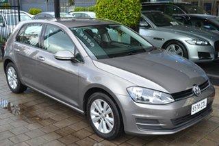 2015 Volkswagen Golf VII MY15 90TSI DSG Comfortline Grey Metallic 7 Speed.