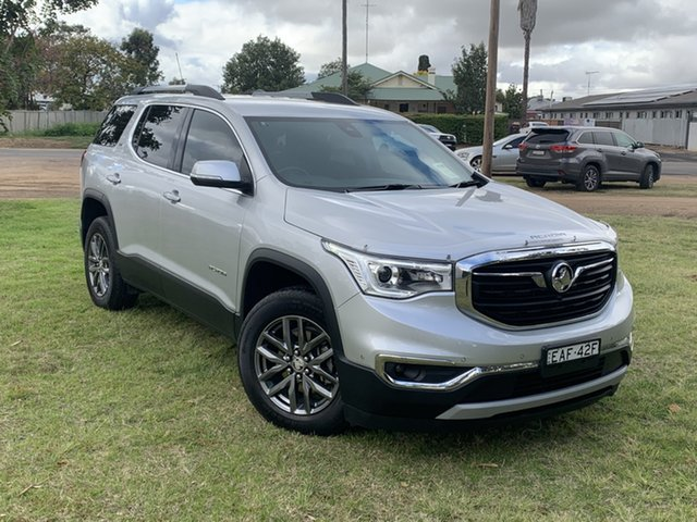 Used Holden Acadia AC MY19 LTZ 2WD, 2019 Holden Acadia AC MY19 LTZ 2WD Silver 9 Speed Sports Automatic Wagon