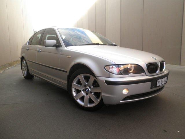 Used BMW 3 Series E46 MY2002 325i Steptronic, 2001 BMW 3 Series E46 MY2002 325i Steptronic Titanium Silver 5 Speed Sports Automatic Sedan