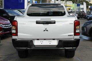 2020 Mitsubishi Triton MR MY20 GSR Double Cab White Diamond 6 Speed Sports Automatic Utility