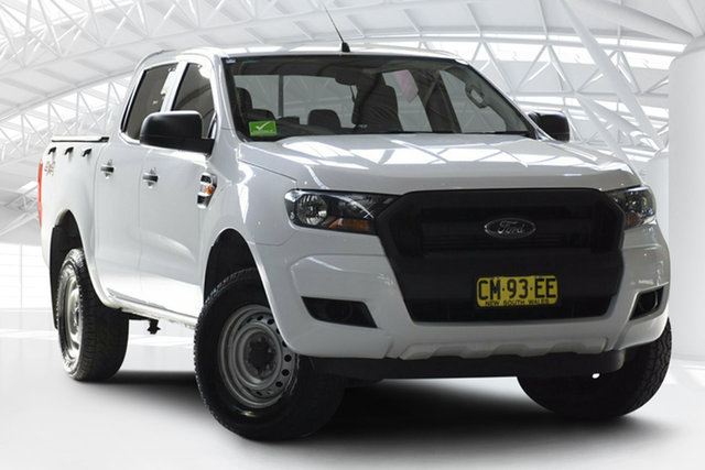 Used Ford Ranger PX MkII MY17 XL 2.2 (4x4), 2017 Ford Ranger PX MkII MY17 XL 2.2 (4x4) White 6 Speed Automatic Crew Cab Utility